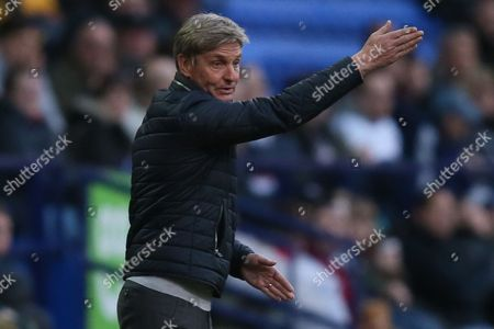 Stock Picture of Charlton Athletic manager Jose Riga during the Sky Bet Championship match between Bolton Wanderers and Charlton Athletic played at the Macron Stadium, Bolton on April 19th 2016