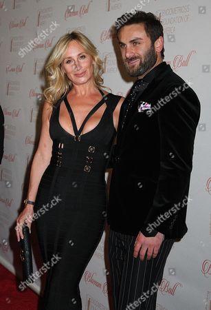 Sonja Morgan and Peyman Umay