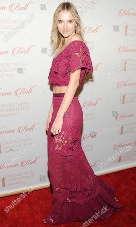 Editorial picture of 8th Annual Blossom Ball, New York, America - 19 Apr 2016