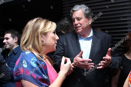 Stock Image of Joy Gorman Wettels and Tom Bernard