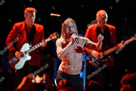 Editorial picture of Iggy Pop in concert at The Fillmore, Miami Beach, Florida, America - 19 Apr 2016