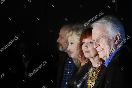 Hippolyte Girardot, Sandrine Kiberlain, Caroline Sihol, Sabine Azema and Andre Dussollier