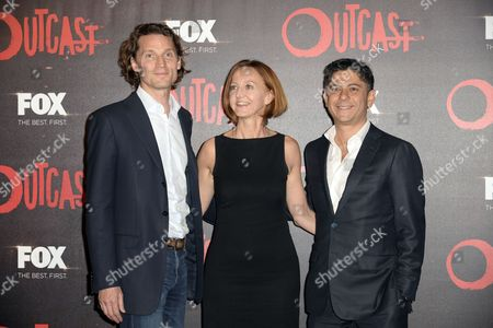 Editorial image of 'Outcast' TV series premiere, Rome, Italy - 19 Apr 2016