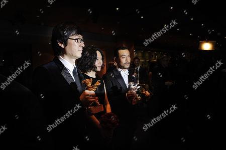 Liao Fan, Vivian Qu and Diao Yinan.