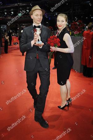 Stock Picture of Dietrich Brueggemann and Anna Brueggemann.