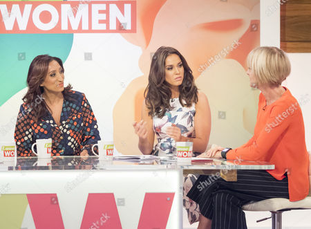 Shazia Mirza, Vicky Pattison and Jane Moore