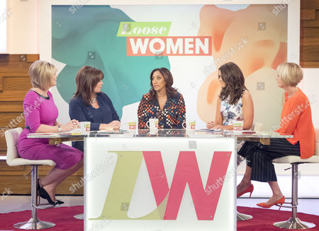 Ruth Langsford, Coleen Nolan, Shazia Mirza, Vicky Pattison and Jane Moore