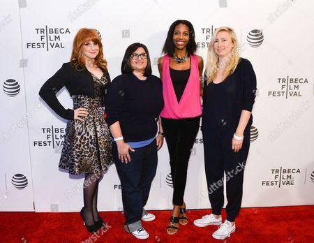 Stock Photo of Keli Goff, Nahnatchka Khan, Elizabeth Meriwether, Julie Klausner