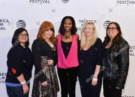 Stock Picture of Keli Goff, Nahnatchka Khan, Elizabeth Meriwether, Julie Klausner, Danielle Nussbaum