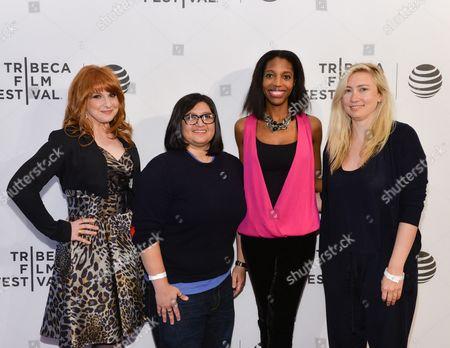 Editorial image of 'Tribeca Talks - Daring Women Summit', Tribeca Film Festival, New York, America - 20 Apr 2016