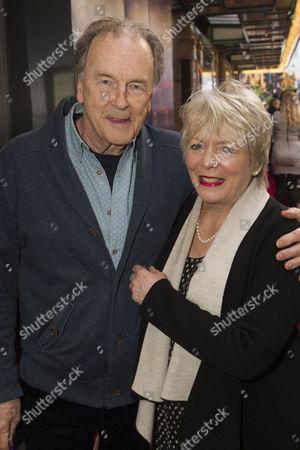 Michael Elwyn and Alison Steadman