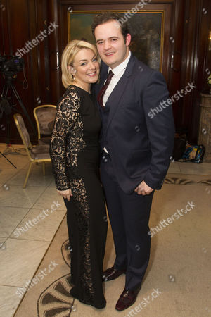 Stock Image of Sheridan Smith (Fanny Brice) and Joel Montague (Eddie)