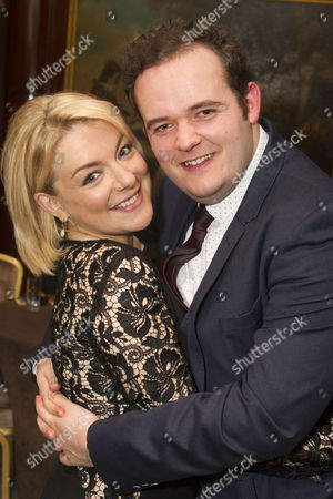 Sheridan Smith (Fanny Brice) and Joel Montague (Eddie)