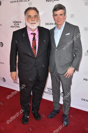 Francis Ford Coppola with Jay McInerney