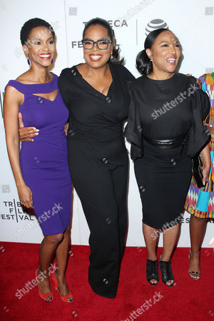 Kim Hawthorne, Oprah Winfrey and Lynn Whitfield