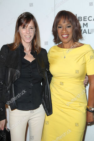Stock Picture of Lucy Kaylin (Editor-in-Chief; O Magazine) and Gayle King