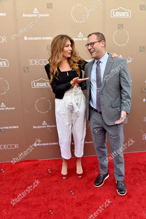 Genevieve Gorder and Matthew Bernardo