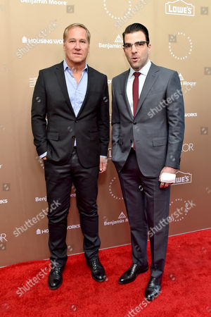 James Huniford and Zachary Quinto