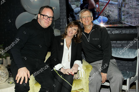 Stock Image of Jerry Kolber, Jane Rosenthal, Alan Eustace