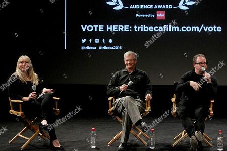 Stock Image of TFF Moderator, Alan Eustace, Jerry Kolber (Director)