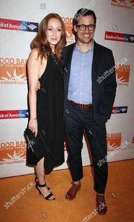 Jennifer Ferrin and Zachary Bliss