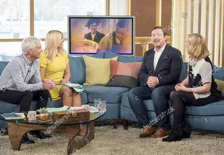Phillip Schofield, Holly Willoughby, Daniel Ryan and Claire Price