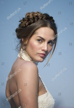 Stock Picture of Model Sara Sanmartin