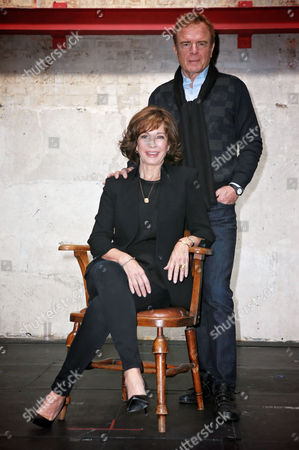 Editorial image of 'The Trial of Jane Fonda' Photocall at the Park Theatre, London, Britain - 21 Apr 2016