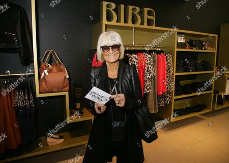 Editorial picture of Barbara Hulanicki visits House of Fraser, Bath, Britain - 21 Apr 2016