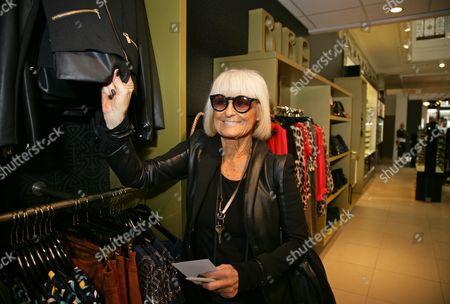 Editorial photo of Barbara Hulanicki visits House of Fraser, Bath, Britain - 21 Apr 2016