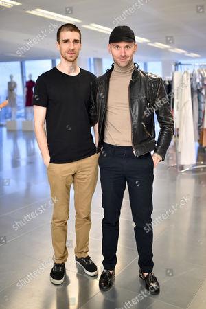 Levi Palmer and Matthew Harding