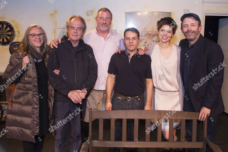 Editorial photo of 'Blue on Blue' play, After Party, London, Britain - 21 Apr 2016