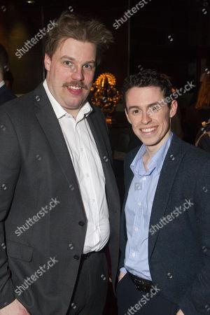 Henry Lewis (Author/Robin Freeboys) and Jonathan Sayer (Author/Warren Slax)