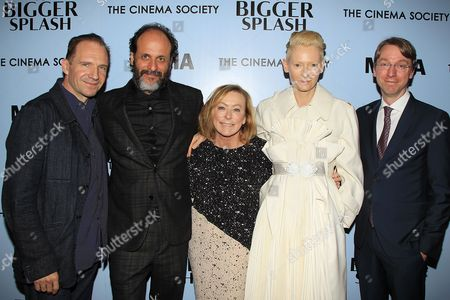 Luca Guadagnino, Nancy Utley, Tilda Swinton, David Kajganich