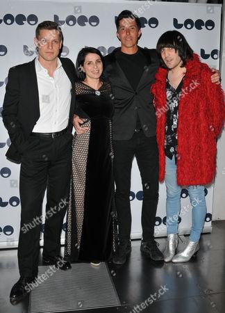 Max Bennett, Sadie Frost, Ben Charles Edwards & Noel Fielding