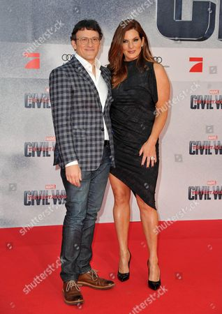 Anthony Russo (Director) and wife Ann Russo