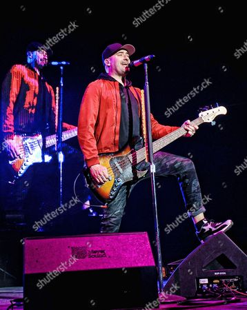 Stock Picture of Tommy MacDonald of Hedley performs on stage