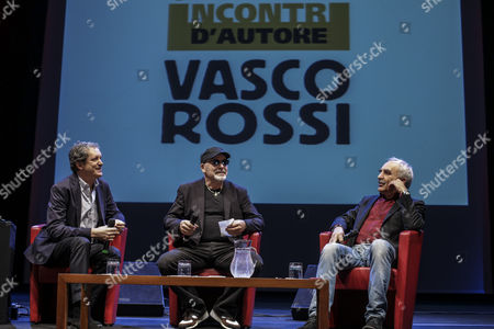 Editorial photo of Vasco Rossi meeting, Rome, Italy - 19 Apr 2016