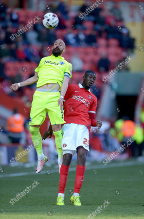 Editorial picture of Charlton Athletic v Brighton & Hove Albion, Sky Bet Championship, Football, The Valley, London, Britain 23 Apr 2016
