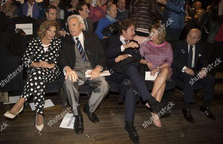 Maria Teresa Campos, Luis del Olmo, Edmundo Arrocet and Terelu Campos