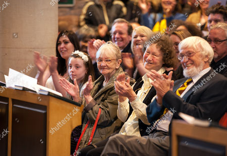Stock Photo of Relatives at St Agnes Church