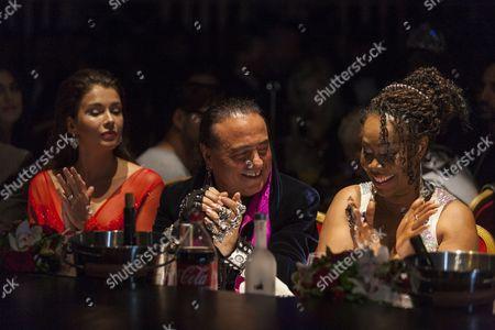 Judges Ciro Orsini and Sheyla Bonnick