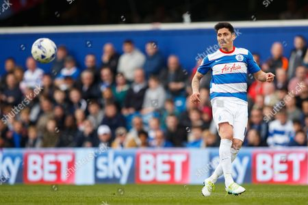 Alejandro Faurlin of QPR during the SkyBet Championship match between QPR and Reading played at Loftus Road Stadium, London on April 23rd 2016