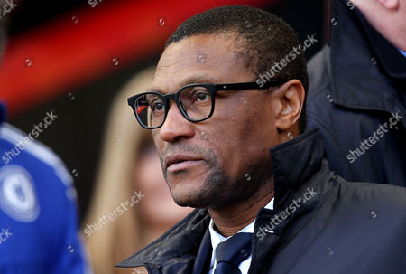 Chelsea Technical Director Michael Emenalo before the Barclays Premier League match between AFC Bournemouth and Chelsea played at The Vitality Stadium, Bournemouth on April 23th 2016