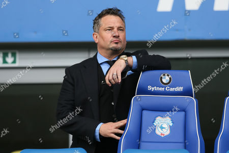 Dean Holdsworth during the Sky Bet Championship match between Cardiff City and Bolton Wanderers played at the Cardiff City Stadium on April 23nd 2016