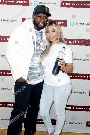 50 Cent and Natalie Guercio