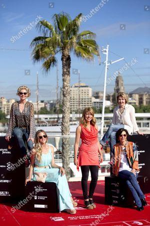 Ines Paris, Belen Rueda, Maria Pujalte, Fele Martinez and Patricia Montero