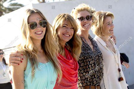 Ines Paris, Belen Rueda, Maria Pujalte and Patricia Montero
