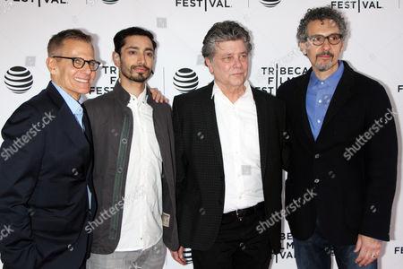 Michael Lombardo, Riz Ahmed, Steven Zaillian and John Turturro