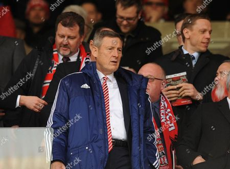 Ellis Short owner of Sunderland during the Barclays Premier League match between Sunderland and Arsenal played at Stadium of Light, Sunderland, on the 24th April  2016